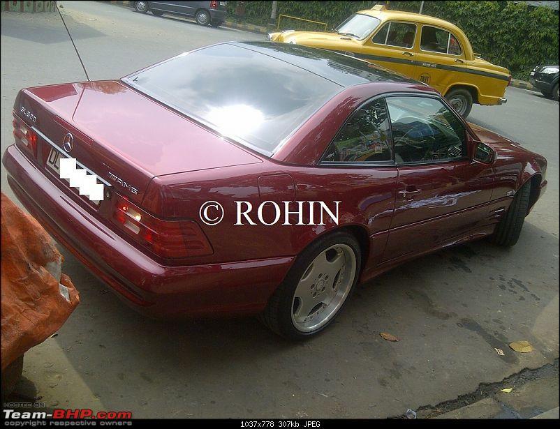 Supercars & Imports : Kolkata-merc-sl.jpg
