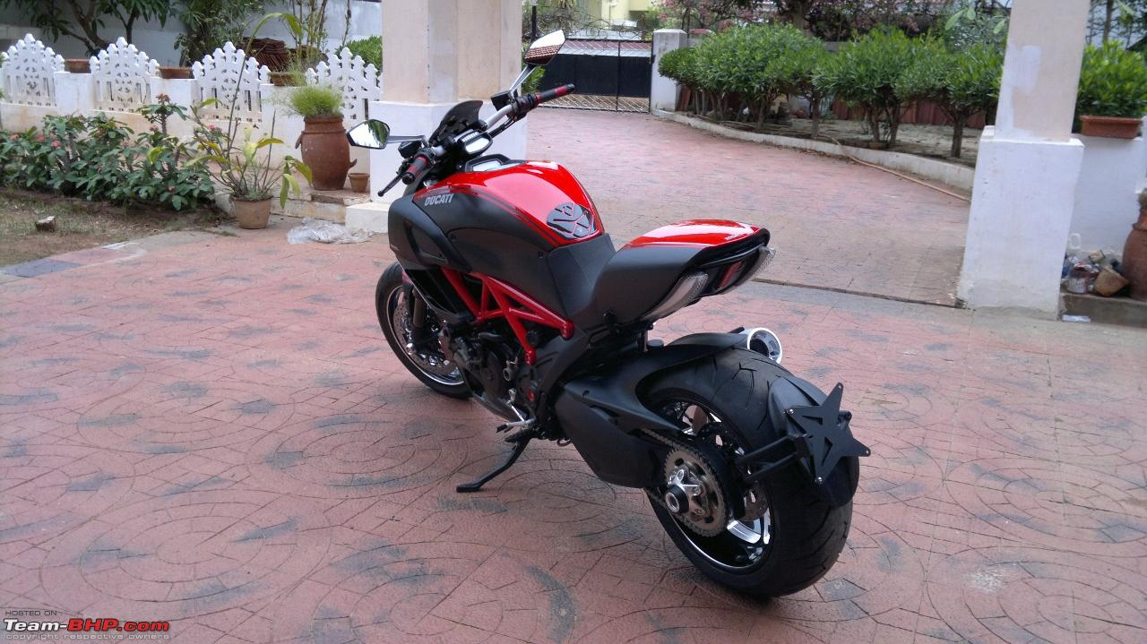 ducati diavel - forged in hell - ownership review - team-bhp