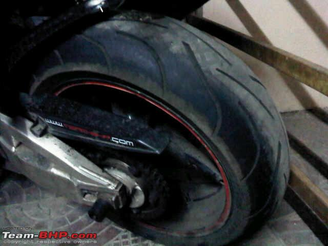 Name:  Finally making use of the tires..jpg