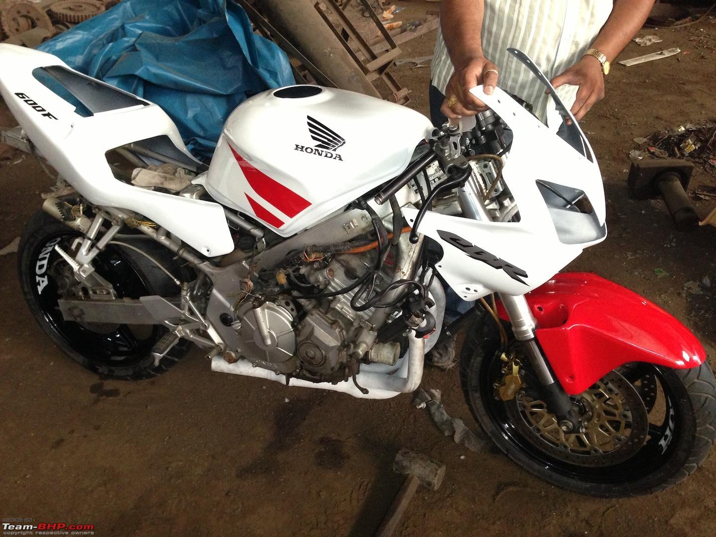 The Frankenbike Build  My Honda Cbr 600 F3 Build