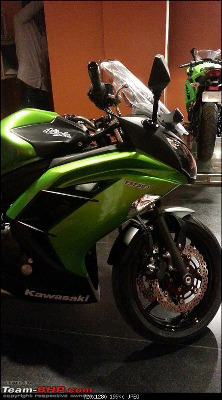Kawasaki Ninja 650R : Test Ride & Review-20131104_174040.jpg