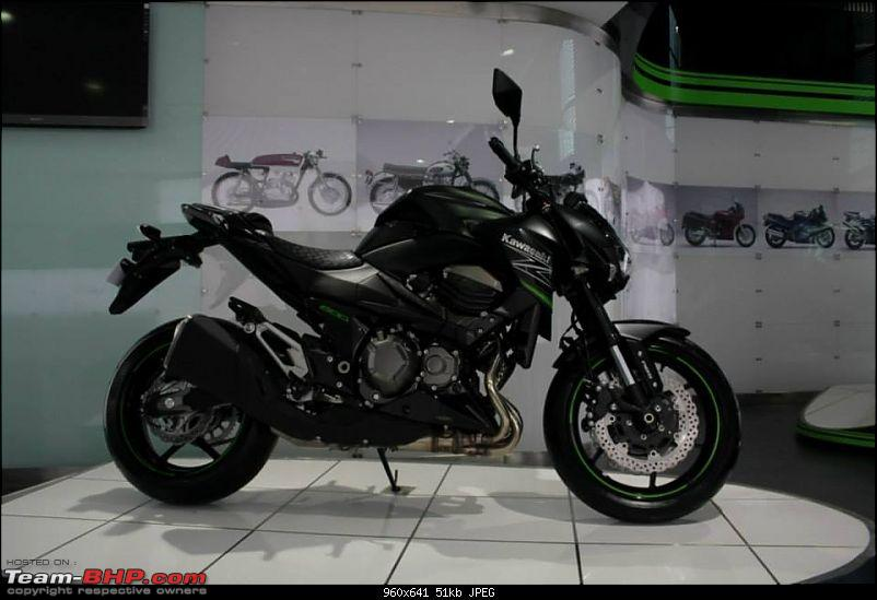 Kawasaki Z800 unveiled, heading to India and now Launched. Edit - New color scheme for 2016-z800.jpg