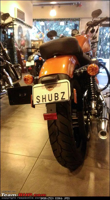 I just got Har-Ley'd! My Iron 883-shubz-plate.jpg