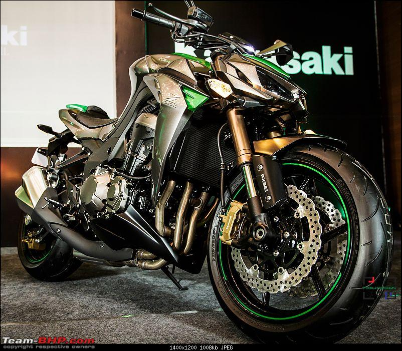 Kawasaki Z1000 and Ninja 1000 launched in India at Rs. 12 ...