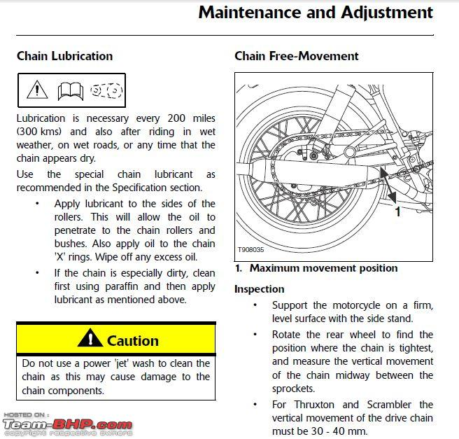 Name:  Triumph Chain Maintenance.JPG
