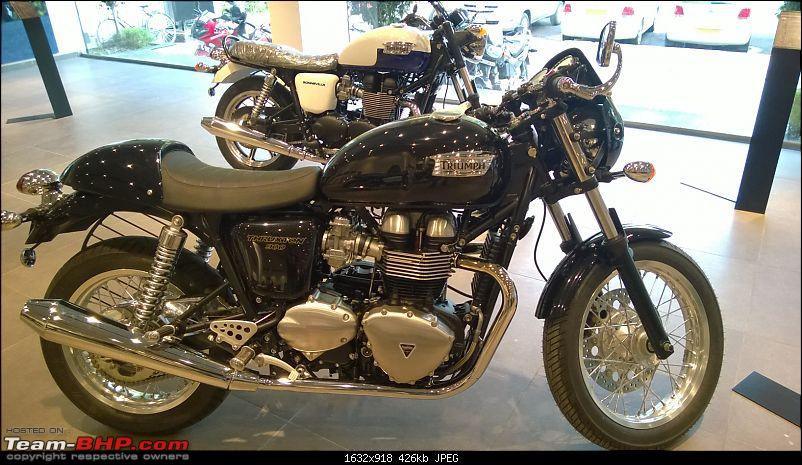 Triumph motorcycles to enter India. Edit: Now Launched Pg. 48-thruxton1.jpg