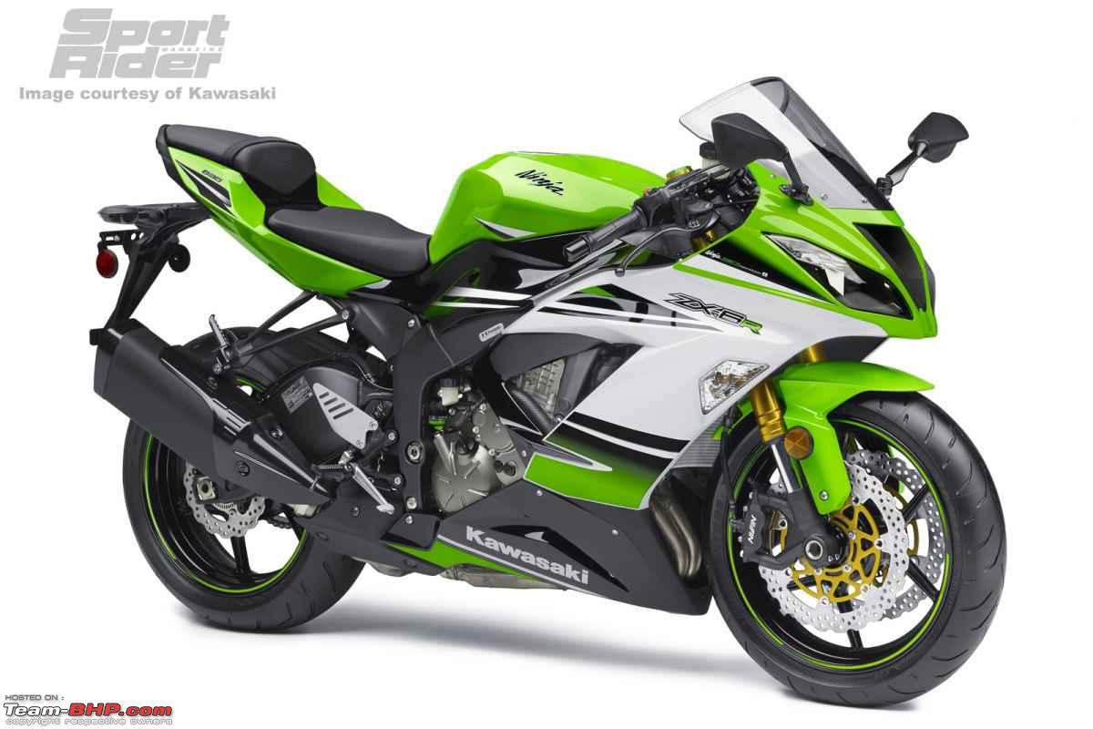 Kawasaki releases the 2015 ZX10R and ZX6R - Team-BHP