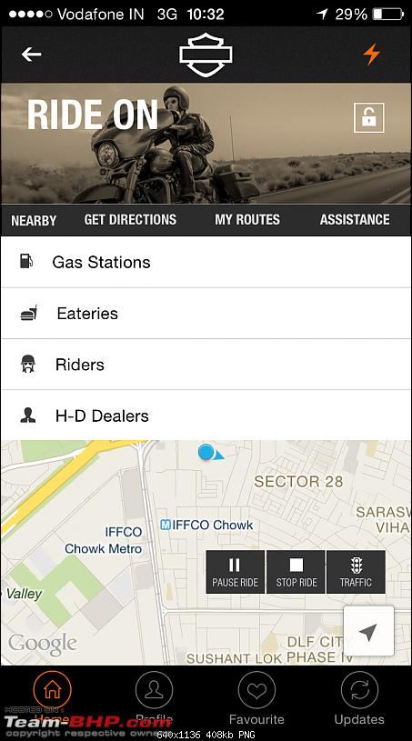 H-D India: Smartphone application from Harley-Davidson-ride-2.png