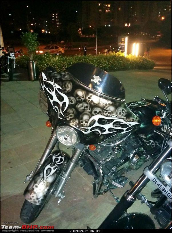 Harley Davidson Iron 883 - Beauty in the Beast-skeleton-paint-job.jpg