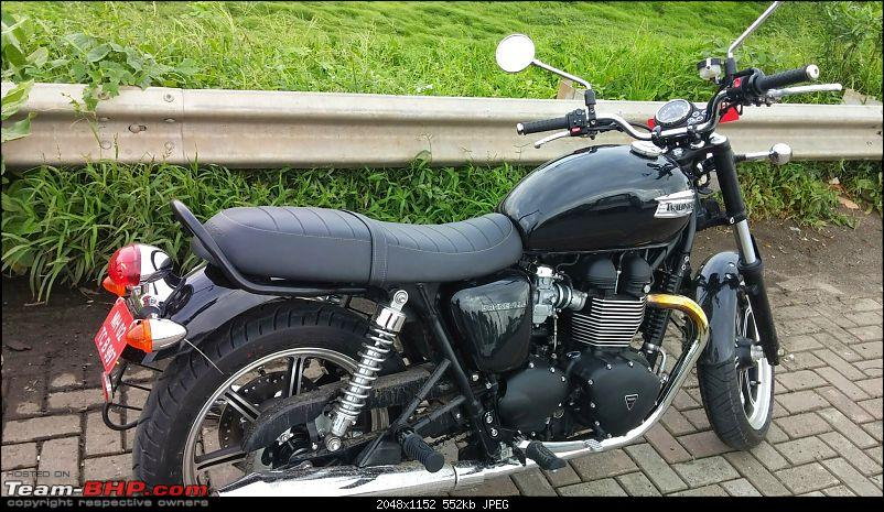 Triumph Bonneville: Yet another Bonnie story from the heart !!!-20140813_165636.jpg