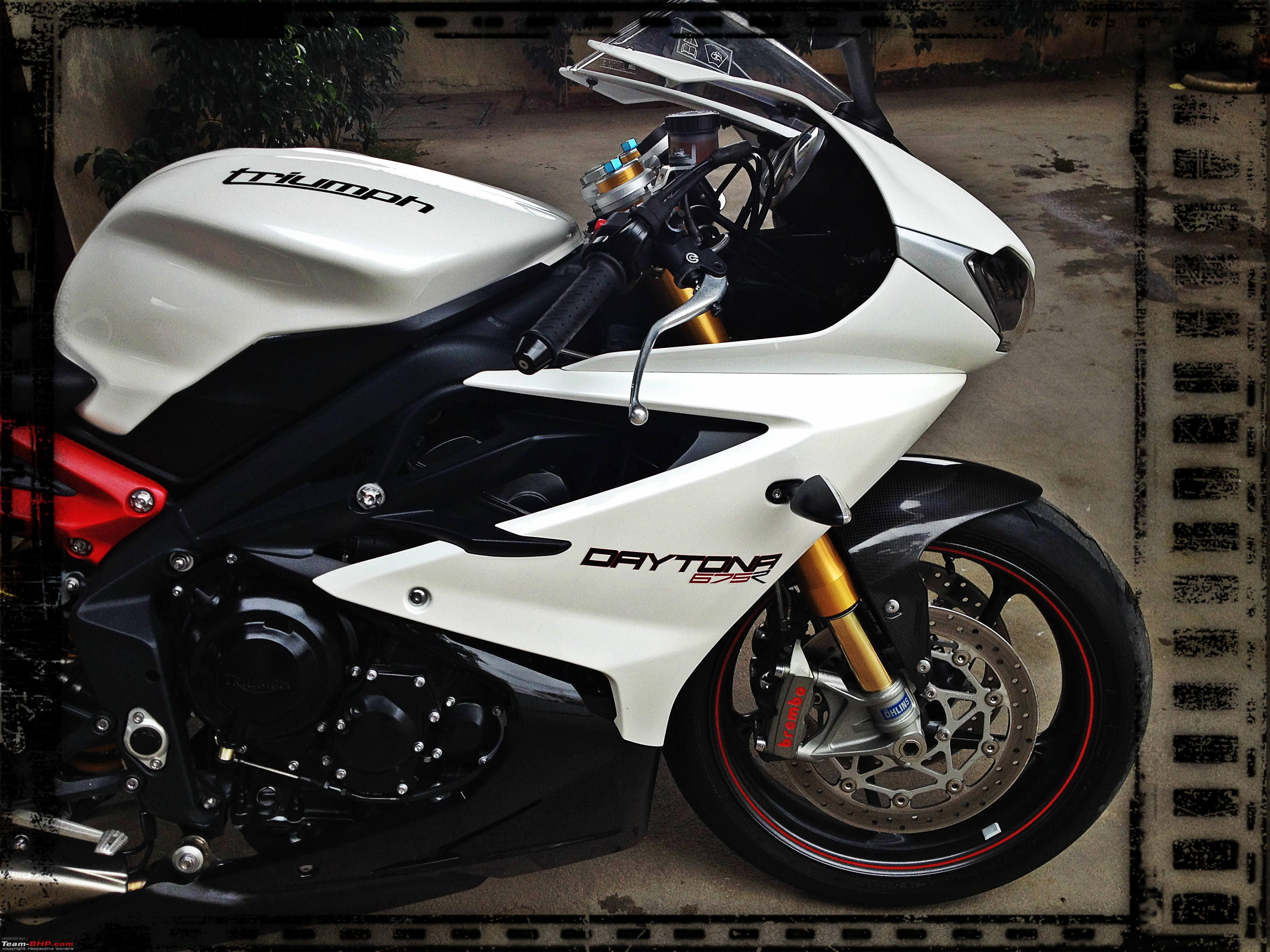 Triumph Daytona 675r A True Everyday Superbike Team Bhp