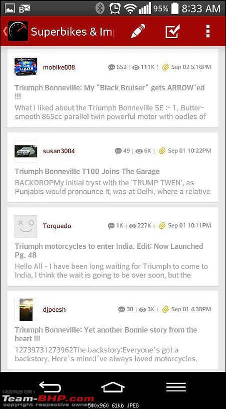 Triumph motorcycles to enter India. Edit: Now Launched Pg. 48-1409713498244.jpg