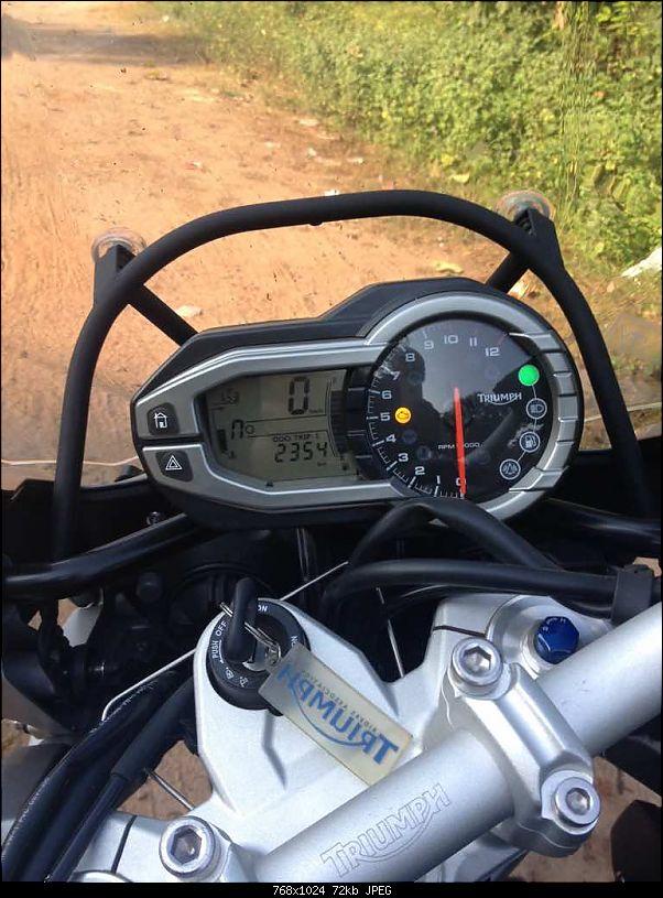 "Triumph Tiger Explorer 1200: The ""Big Tiger"" exploring Indian roads! EDIT : Now SOLD-imageuploadedbyteambhp1411882394.042898.jpg"