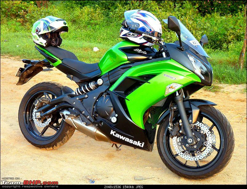 The Green Hornet: My pre-worshipped Kawasaki Ninja 650R-p1040039.jpg