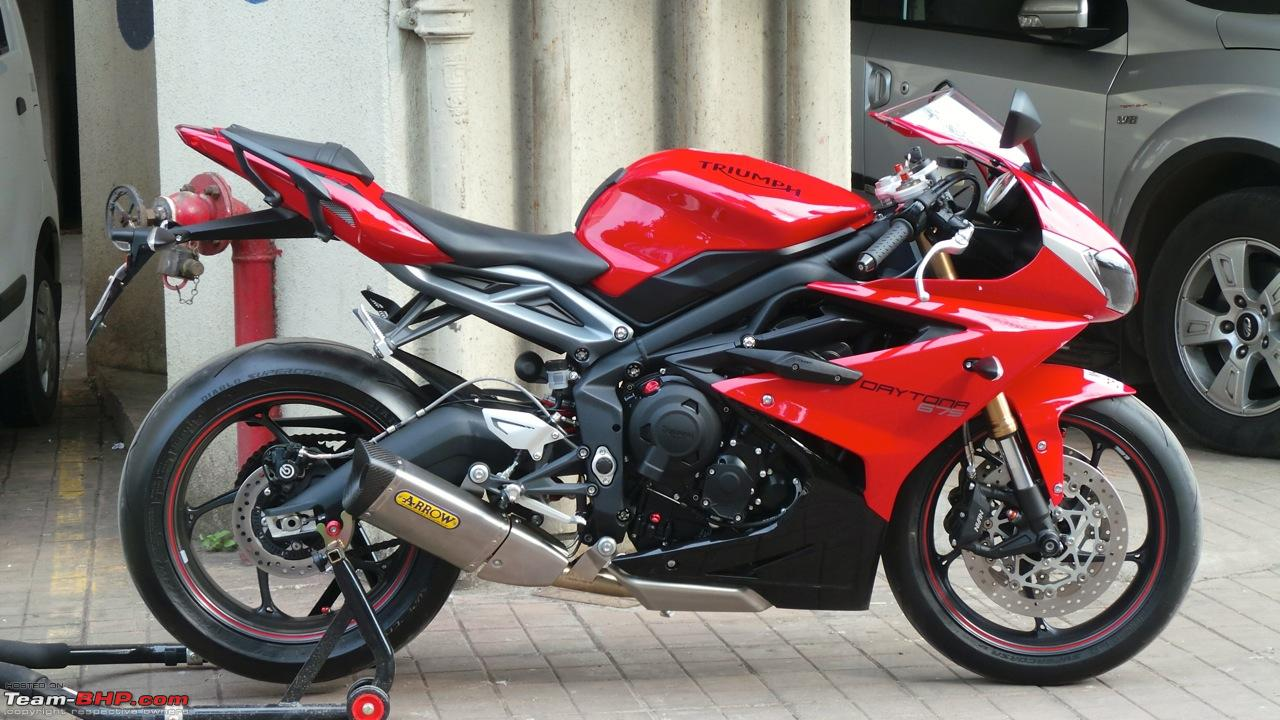 Triumph Daytona 675 Flies In Welcome Home Ravensoul Page 4