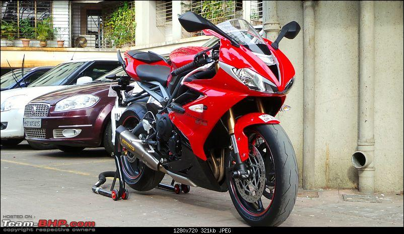 Triumph Daytona 675 flies in! Welcome home, Ravensoul-my-daytona-arrow-installed-2.jpg