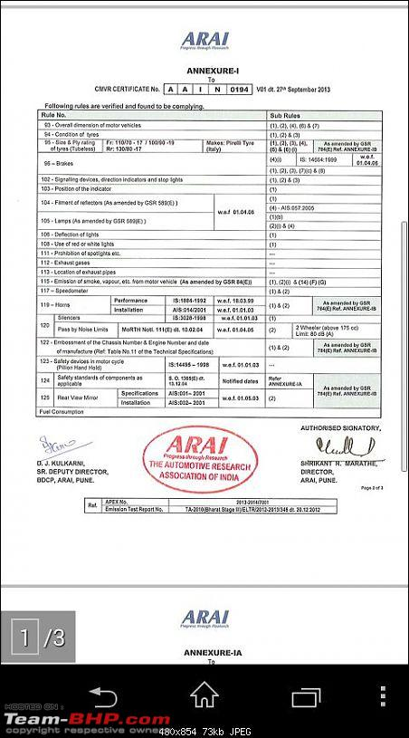 Triumph India: Sold Bikes in India with fake performance figures!-img20141129wa031.jpg