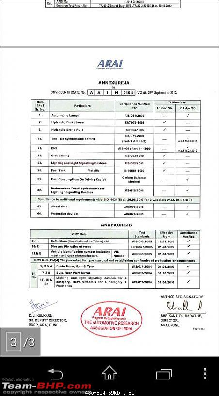 Triumph India: Sold Bikes in India with fake performance figures!-img20141129wa033.jpg