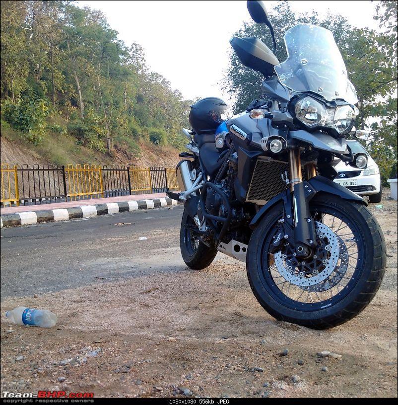 "Triumph Tiger Explorer 1200: The ""Big Tiger"" exploring Indian roads! EDIT : Now SOLD-img_20141214_163528small.jpg"