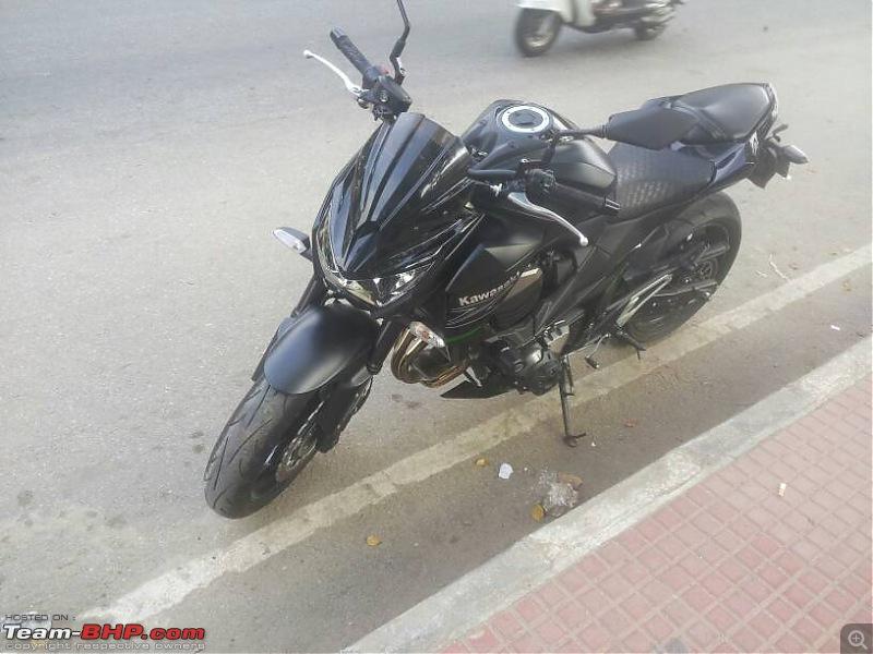 Zee comes home - My 2014 Kawasaki Z800-1419251878823.jpg