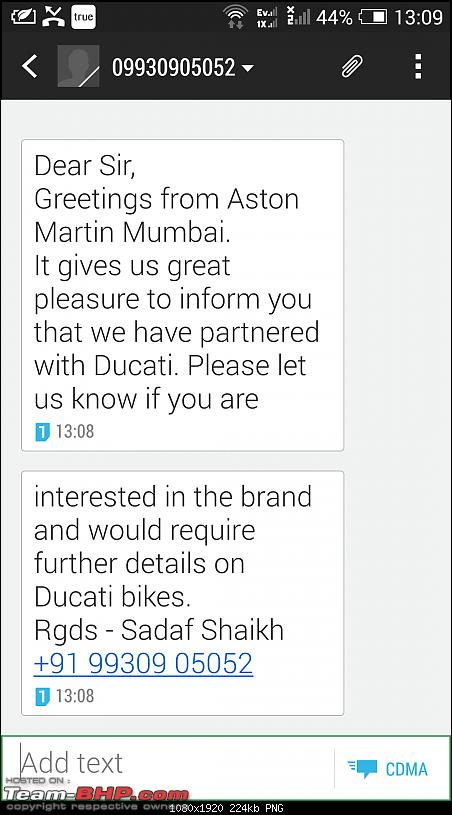 Ducati to re-enter India in 2015. EDIT: Bikes priced from Rs. 7.08 lakhs (page 6)-20150210-07.39.39.png