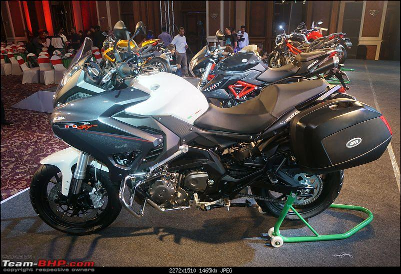 DSK-Benelli launches 5 motorcycles in India-5benelli1.jpg
