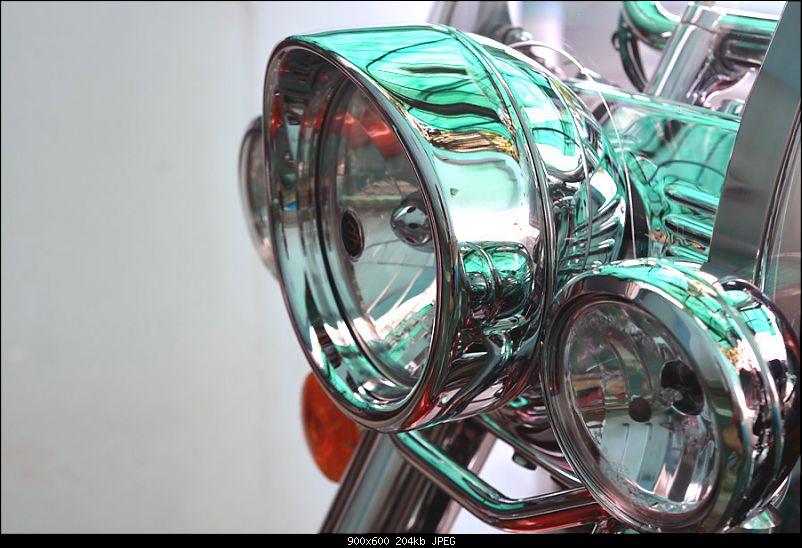 Harley-Davidson Heritage Softail Classic FLSTC: The Comprehensive Review-10-headlight-trim-ring-visor.jpg