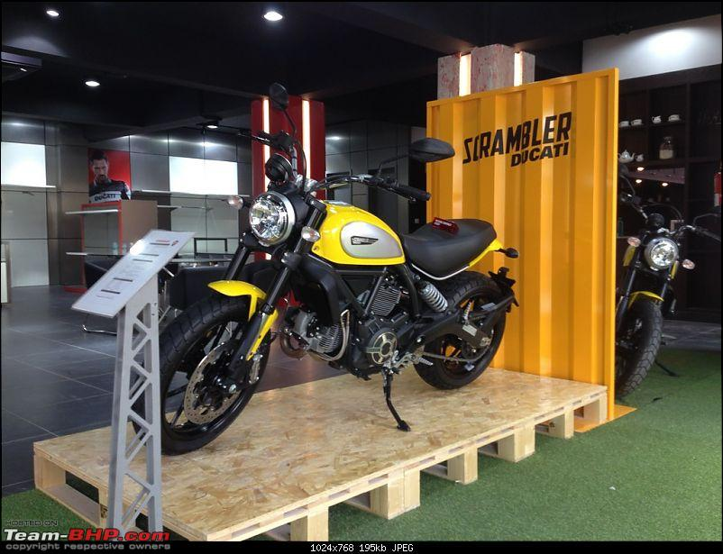 Ducati to re-enter India in 2015. EDIT: Bikes priced from Rs. 7.08 lakhs (page 6)-scramblerdisplay.jpg