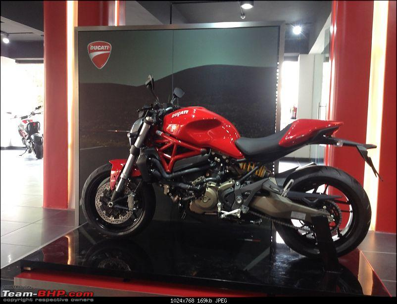 Ducati to re-enter India in 2015. EDIT: Bikes priced from Rs. 7.08 lakhs (page 6)-monster821.jpg