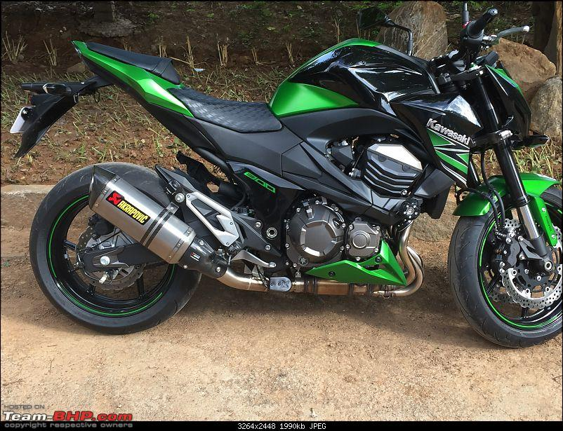 Godzilla! My monster from Japan. Kawasaki Z800, now with HP Corse Hydroform-image.jpg