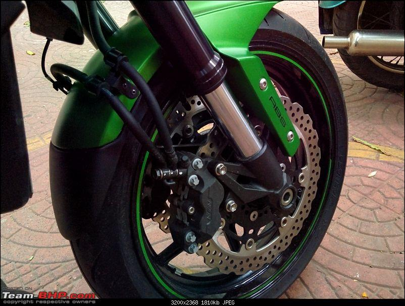 Godzilla! My monster from Japan. Kawasaki Z800, now with HP Corse Hydroform-img_20150711_190620.jpg