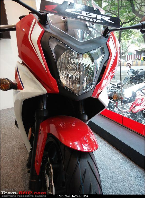 Honda CBR 650F launched in India at Rs. 7.3 lakh-img_20150813_122941.jpg