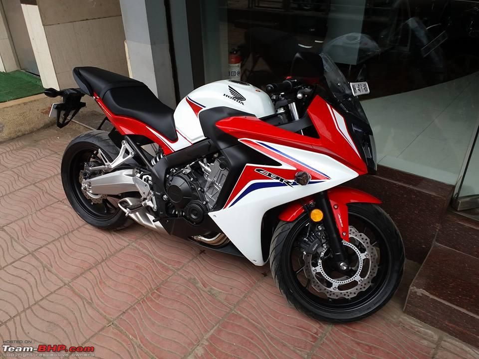 Honda Cbr 650f Launched In India At Rs 73 Lakh Page 10 Team Bhp