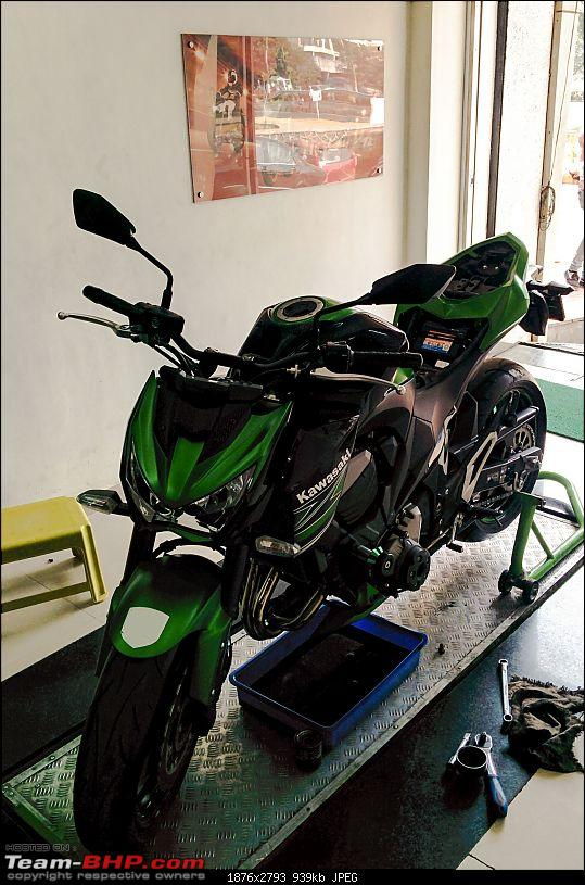 Servicing Costs of Superbikes / Sportsbikes in India-z800-2-service.jpg