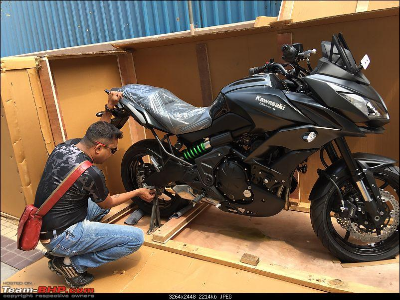 Kawasaki Versys 650: The good times with my 'Dark Knight' begin. EDIT: SOLD!-img_0539.jpg