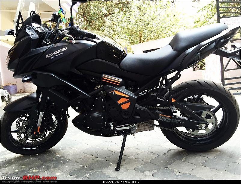 Kawasaki Versys 650:The good times with my 'Dark Knight' begin :Completes 1-Year & 18,000 kms !!!-2.jpg