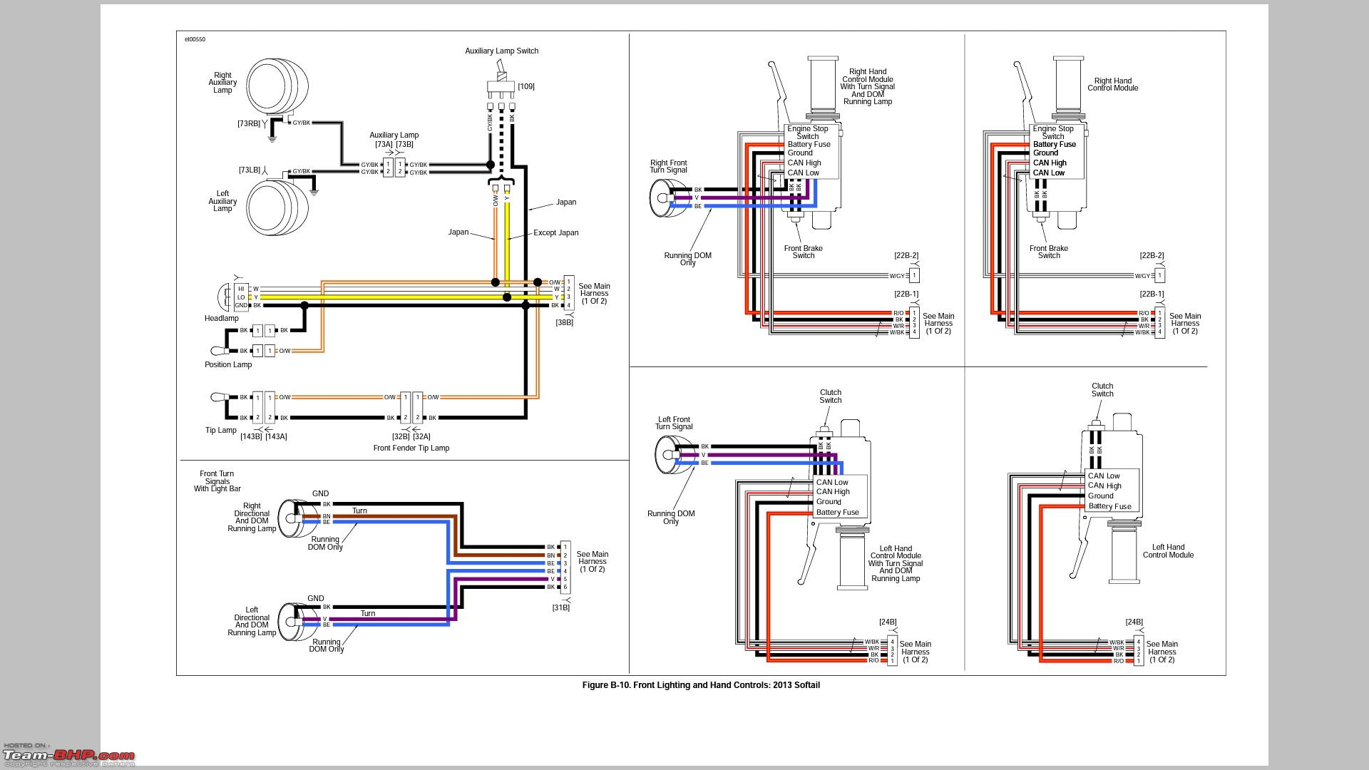 1996 Harley Softail Wiring Diagram