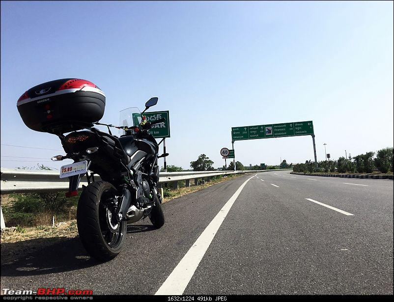 Kawasaki Versys 650 : The good times with my 'Dark Knight' begin!-8.jpg