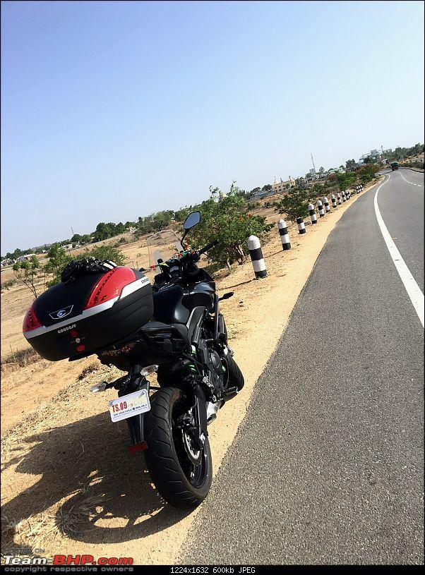 Kawasaki Versys 650 : The good times with my 'Dark Knight' begin!-6.jpg
