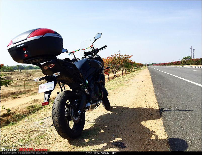 Kawasaki Versys 650 : The good times with my 'Dark Knight' begin!-10.jpg