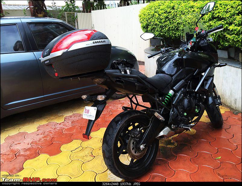 Kawasaki Versys 650:The good times with my 'Dark Knight' begin :Completes 20,000 kms !!!-img_8854.jpg