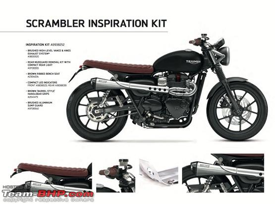 Triumph India introduces new Inspiration kit for Street Twin - Team-BHP