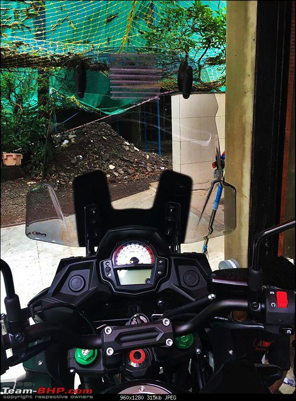 Kawasaki Versys 650 : The good times with my 'Dark Knight' begin!-2.jpg