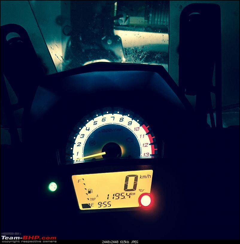 Kawasaki Versys 650:The good times with my 'Dark Knight' begin :Completes 20,000 kms !!!-kms.jpg