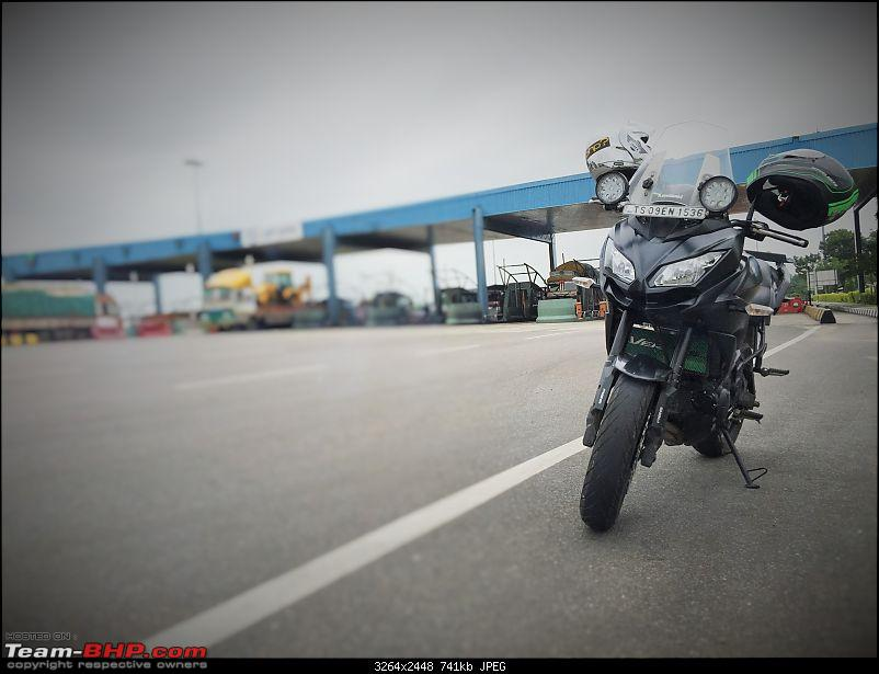 Kawasaki Versys 650:The good times with my 'Dark Knight' begin :Completes 1-Year & 15,000 kms !!!-toll-versys.jpg