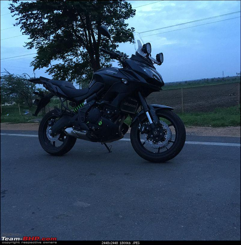 Kawasaki Versys 650:The good times with my 'Dark Knight' begin :Completes 19,500 kms !!!-img_2567.jpg