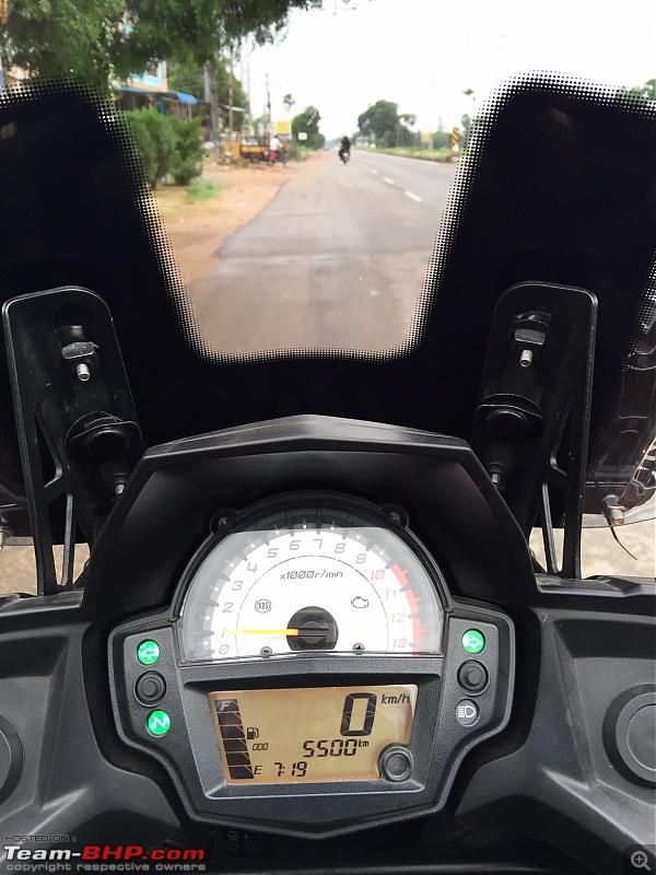 Kawasaki Versys 650:The good times with my 'Dark Knight' begin :Completes 19,500 kms !!!-fullsizerender.jpg