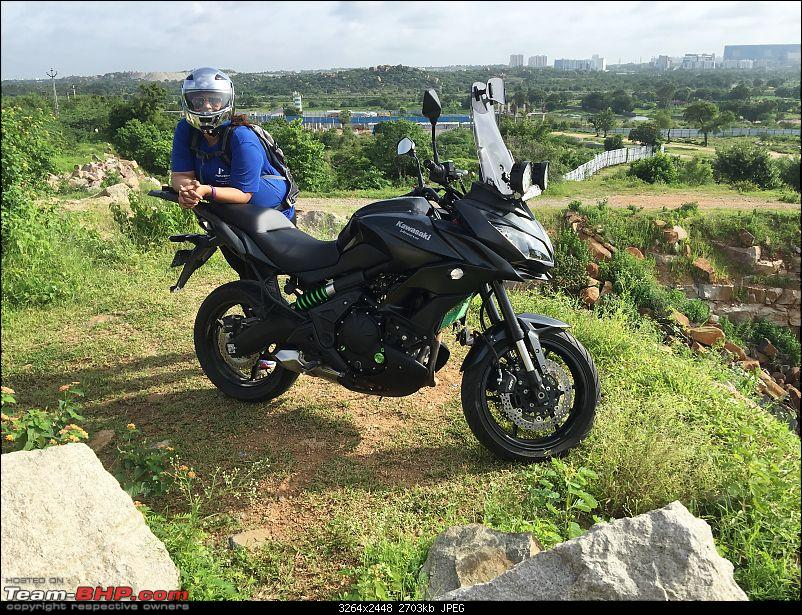 Kawasaki Versys 650:The good times with my 'Dark Knight' begin :Completes 19,500 kms !!!-img_5886.jpg