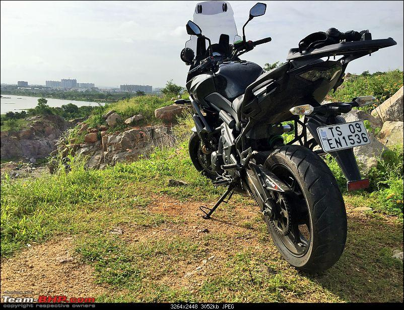 Kawasaki Versys 650:The good times with my 'Dark Knight' begin :Completes 19,500 kms !!!-img_5892.jpg