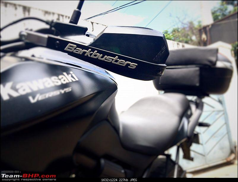 Kawasaki Versys 650:The good times with my 'Dark Knight' begin :Completes 20,000 kms !!!-bb1.jpg